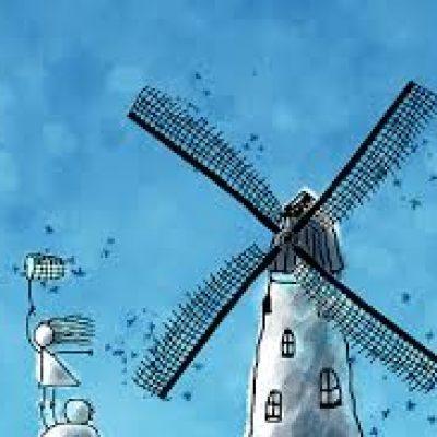 atrapar viento