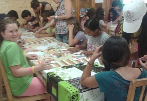 Campamento niños 2014 15